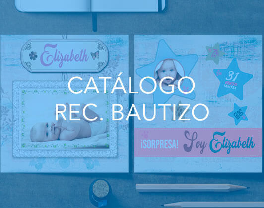 Catálogo Recordatorios Bautizo